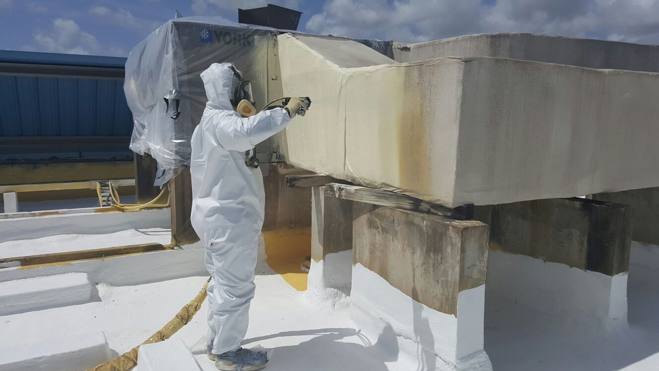 Spray Foam Roofing Insulate Your Building Newton New